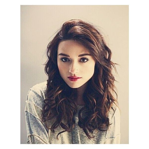 Crystal Reed ❤ liked on Polyvore featuring teen wolf