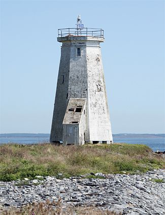 devil s island lighthouse halifax harbor nova scotia canada photo rh pinterest com