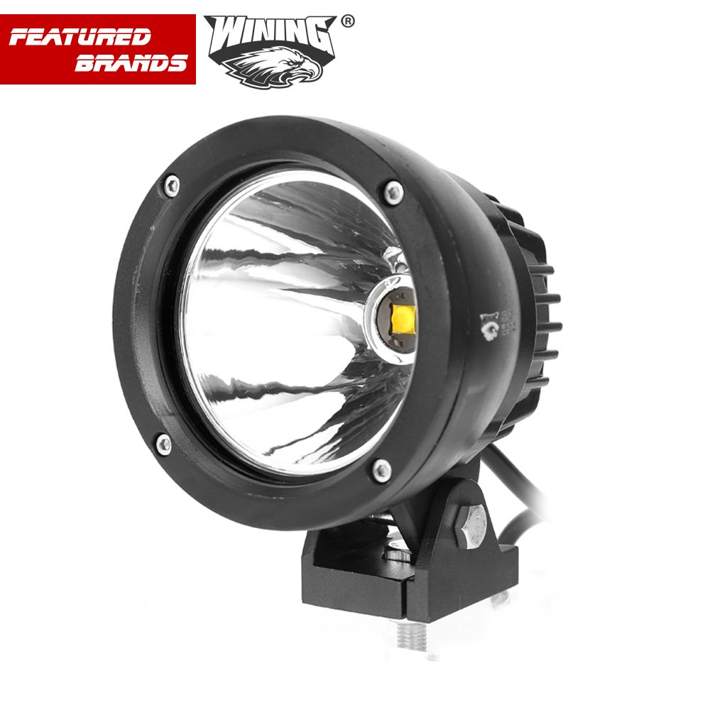 4 Inch 25w Led Car Work Light Spotlight Cob Chip Offroad Round Led Working Light 12v 24v Led Driving Lights 2pcs Led Driving Lights Led Work Light Work Lights
