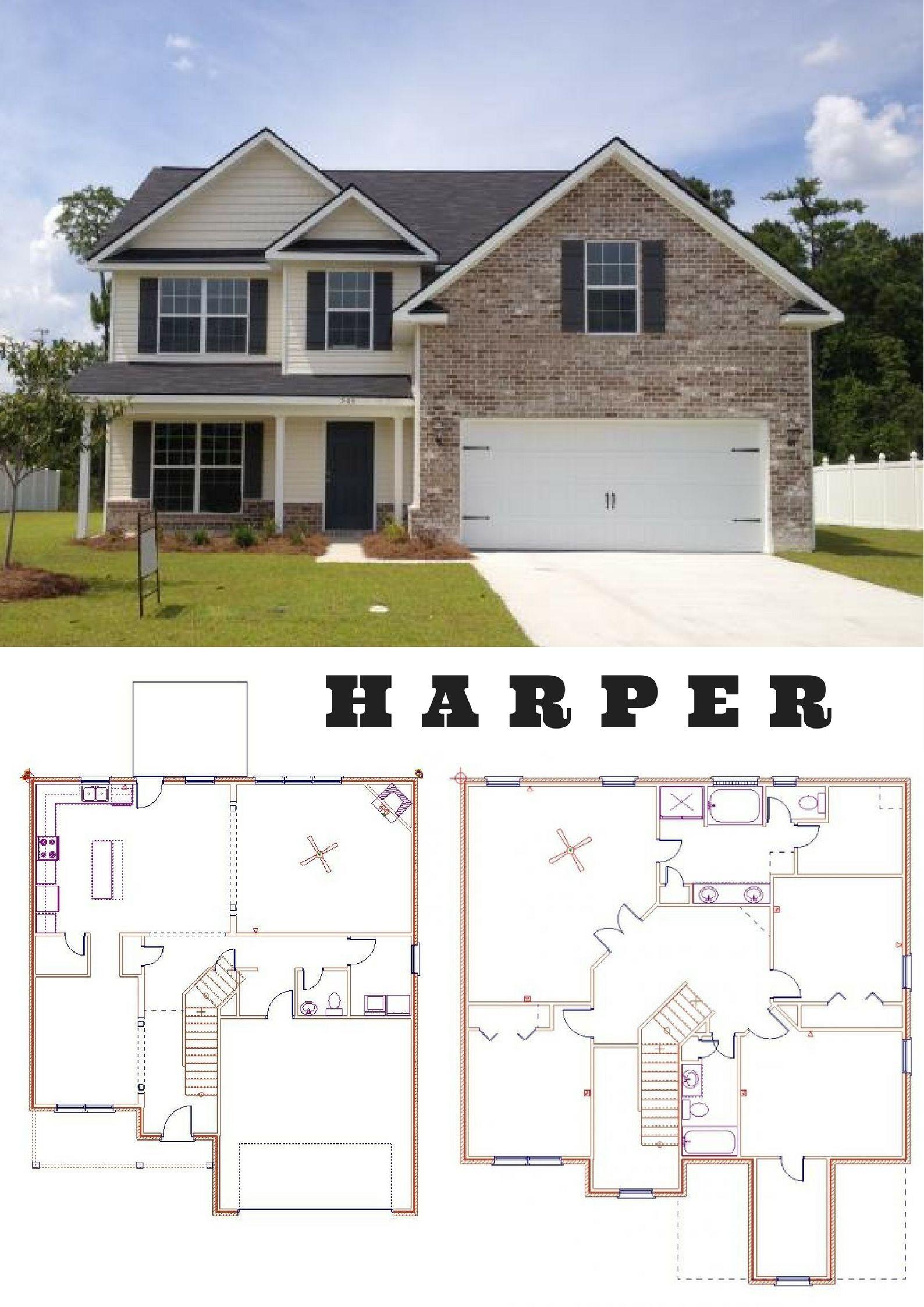 Dryden Enterprises Introducing Harper Floor Plan Open Floor Plan With Island In The Kitchen Full Stainless Steel Appli Floor Plans Open Floor Plan Open Floor