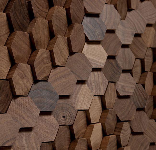 Le nuove piastrelle esagonali - Plus Deco - Interior Design Blog - interieur design dreidimensionaler skulptur