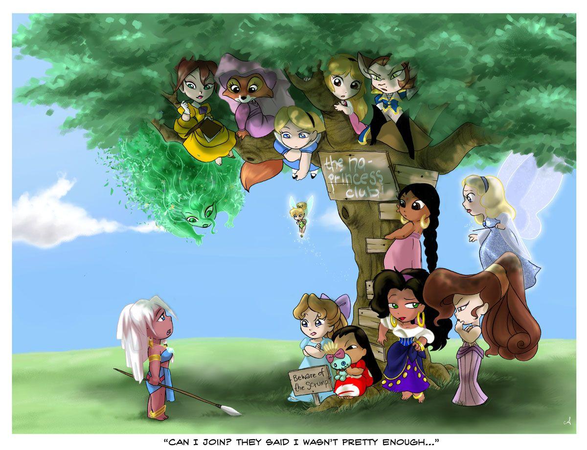 Размышлению, принцессы диснея картинки прикол