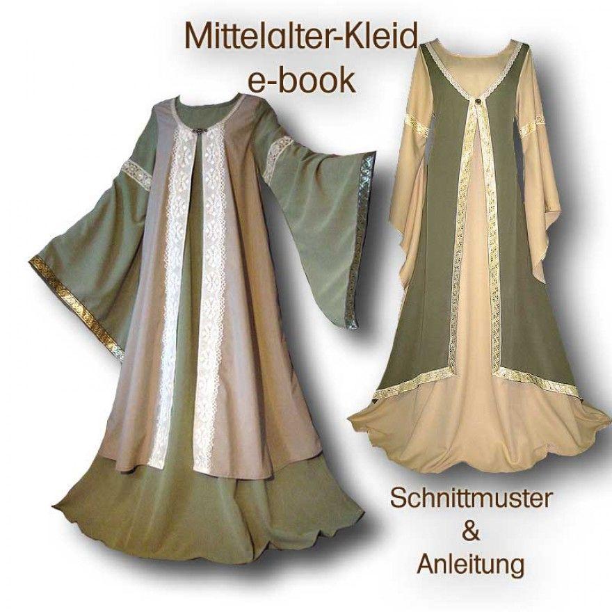 Schnittmuster Mittelaltergewand e-book | Pinterest
