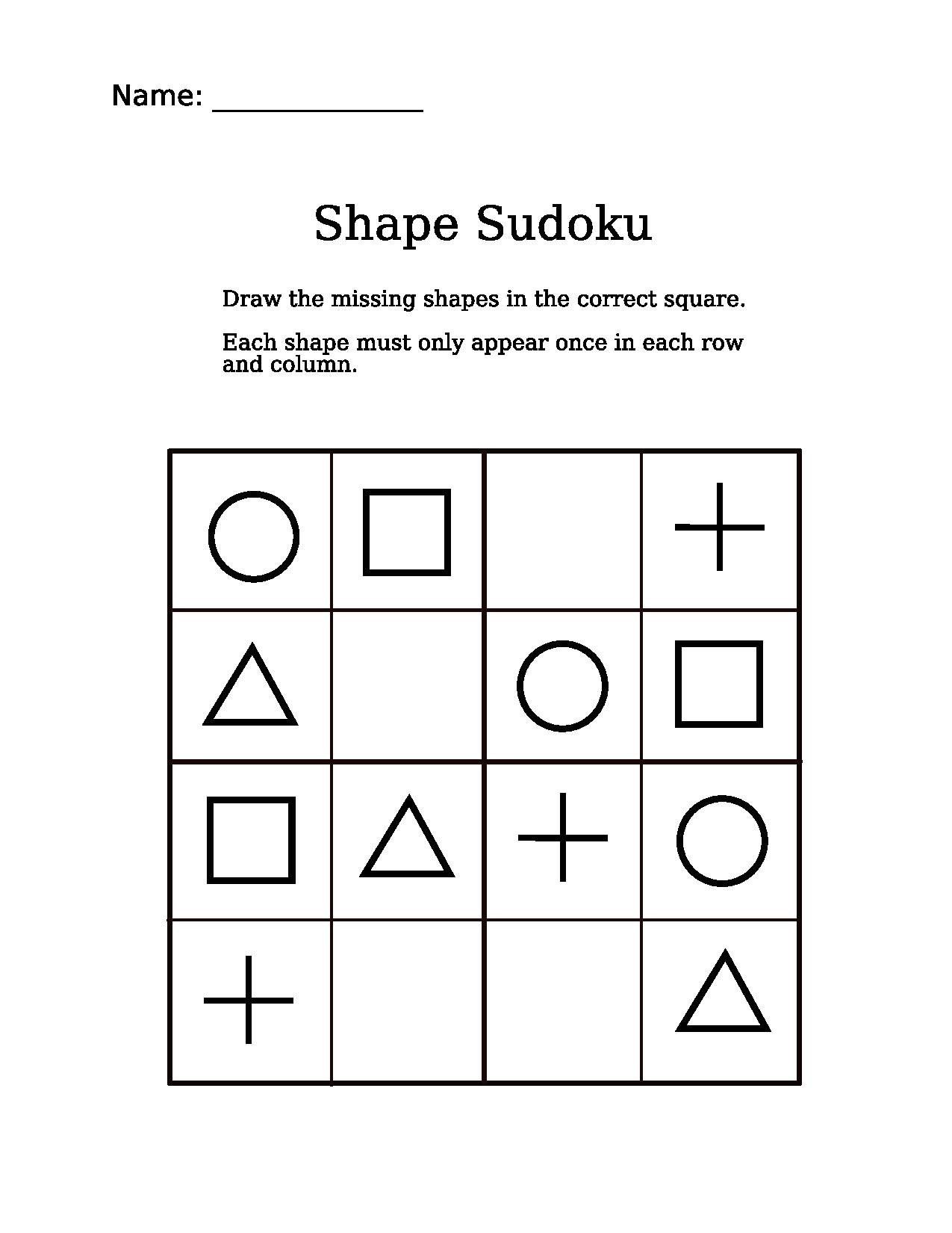 7 Puzzles For Kids Brain Worksheets In With Images