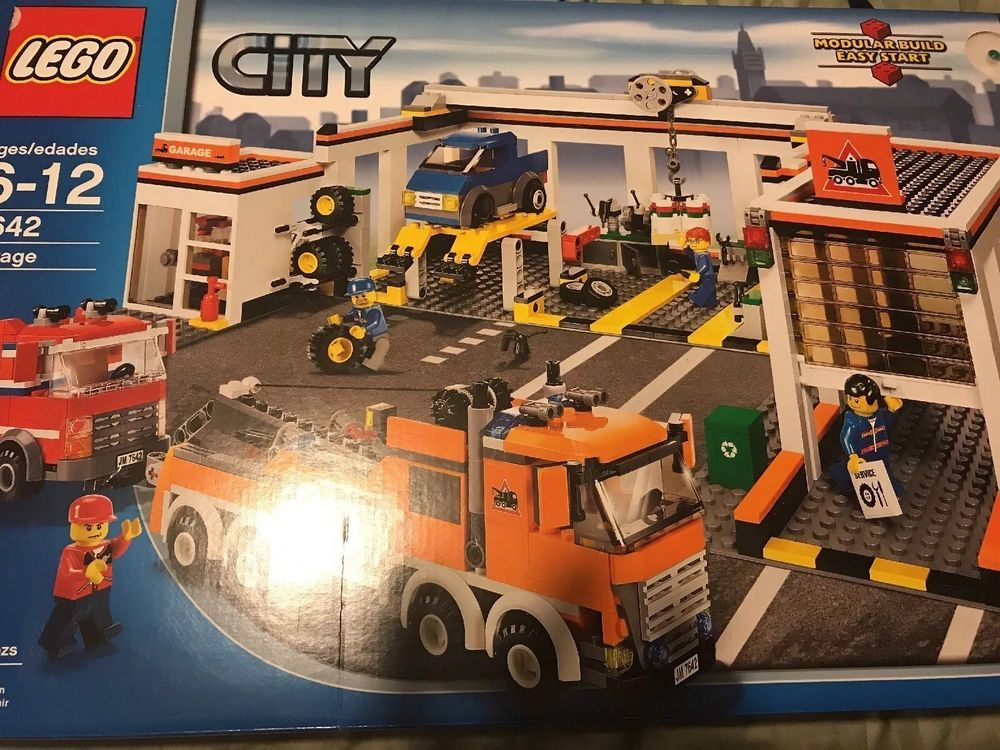 Lego City Garage : Sealed lego city garage the ultimate toy collection