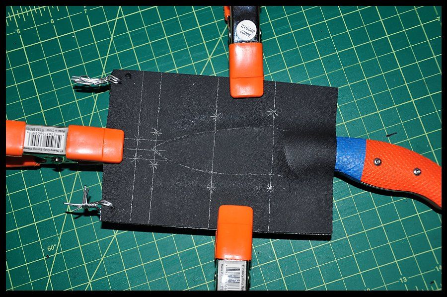 how to make kydex sheaths.