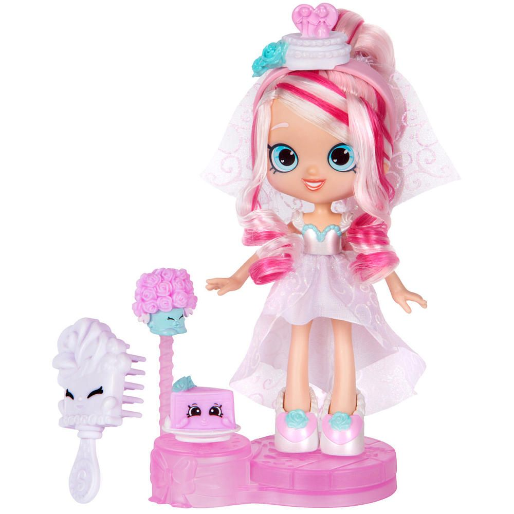 Shopkins Shoppies Series 4 Party Themed Bridie Wedding Party Doll Light Pink Shopkins And Shoppies Shoppies Dolls Shopkins Toys