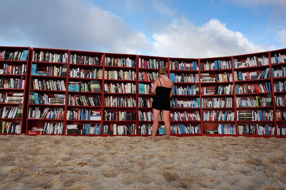 books at the beach