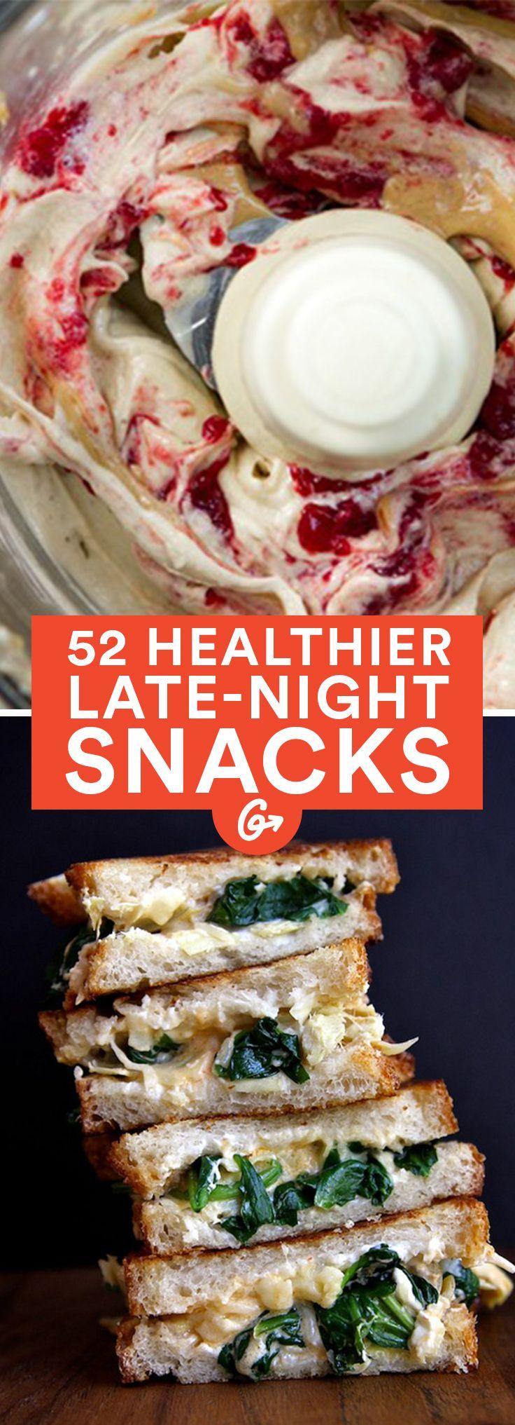Healthy Midnight Snacks: 52 Healthier Alternatives to Late-Night Treats