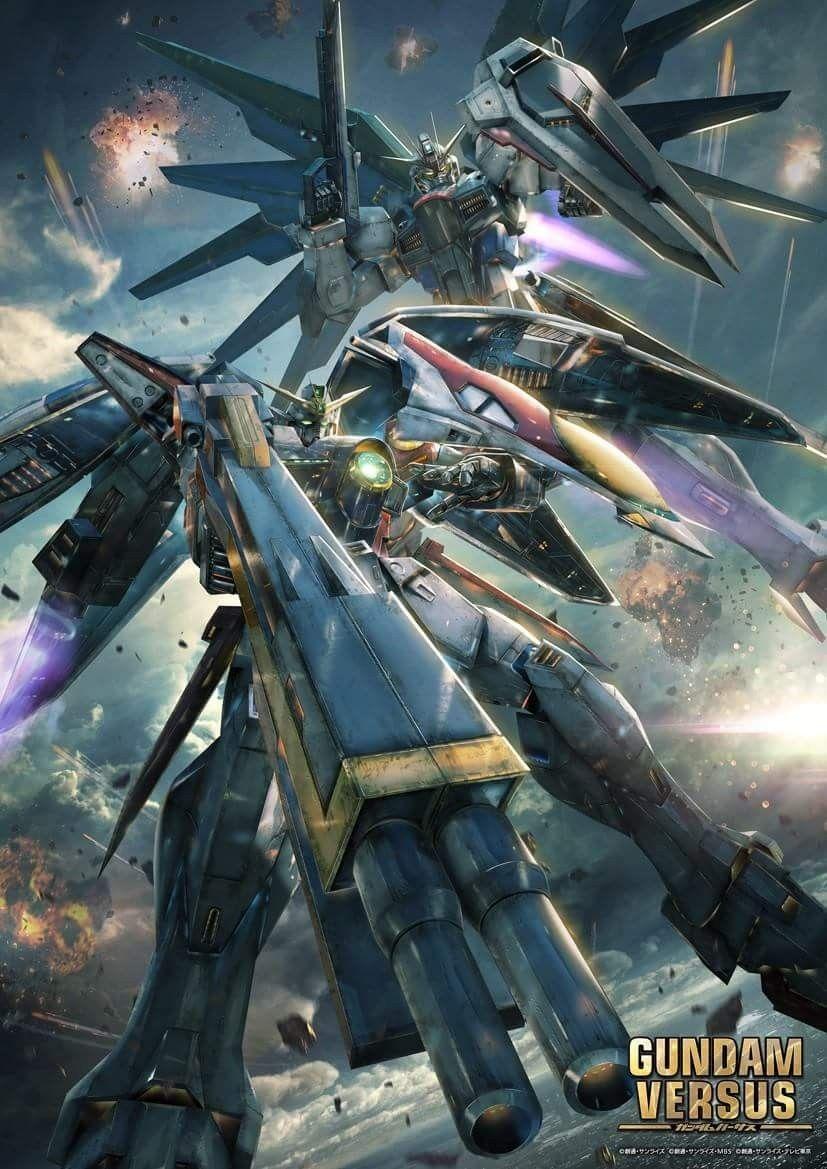 Wing Gundam Zero & Freedom Gundam Gundam wallpapers