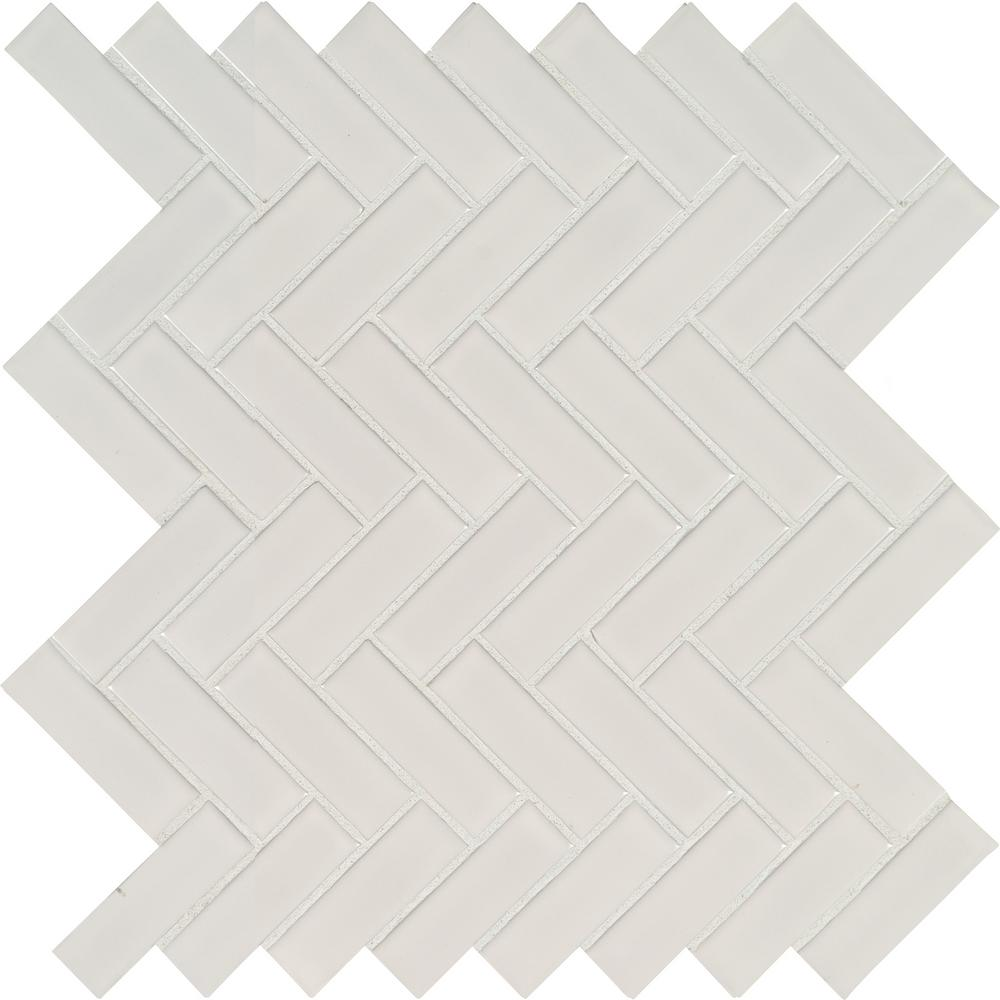 Msi Napa Beige Bullnose 3 In X 13 In Glazed Ceramic Wall Tile 10 83 Lin Ft Case Mosaic Tiles Ceramic Wall Tiles Porcelain Mosaic