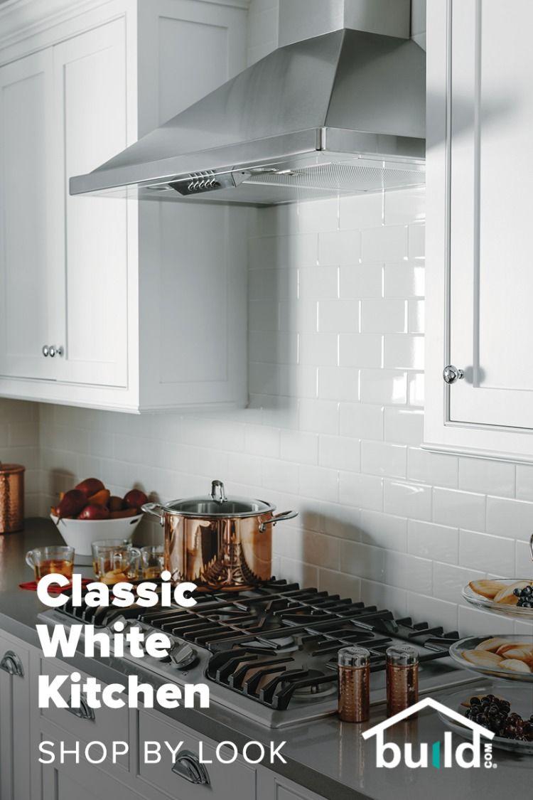 Shop By Look Budget Kitchen Remodel Classic White Kitchen White Kitchen