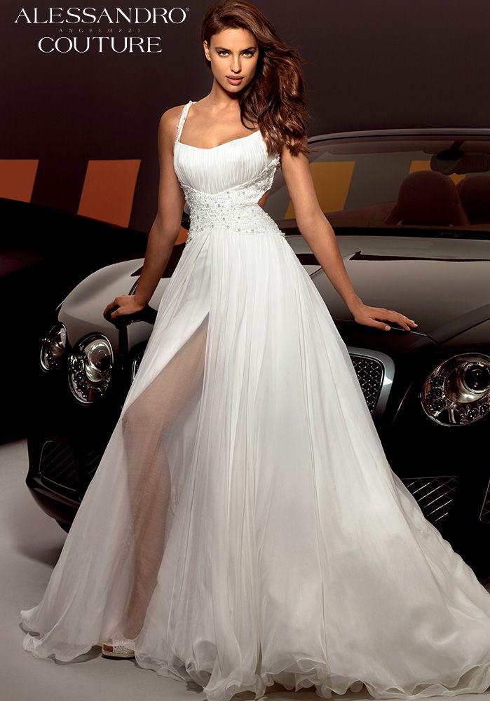 WeddingDress  IrinaShayk  AlessandroAngelozziCouture   WeddingDressCollection 70c6842e179