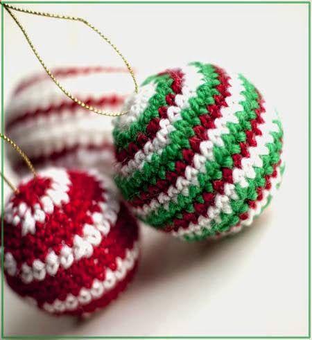 вязаные елочные игрушки крючком новый год рождество вязание