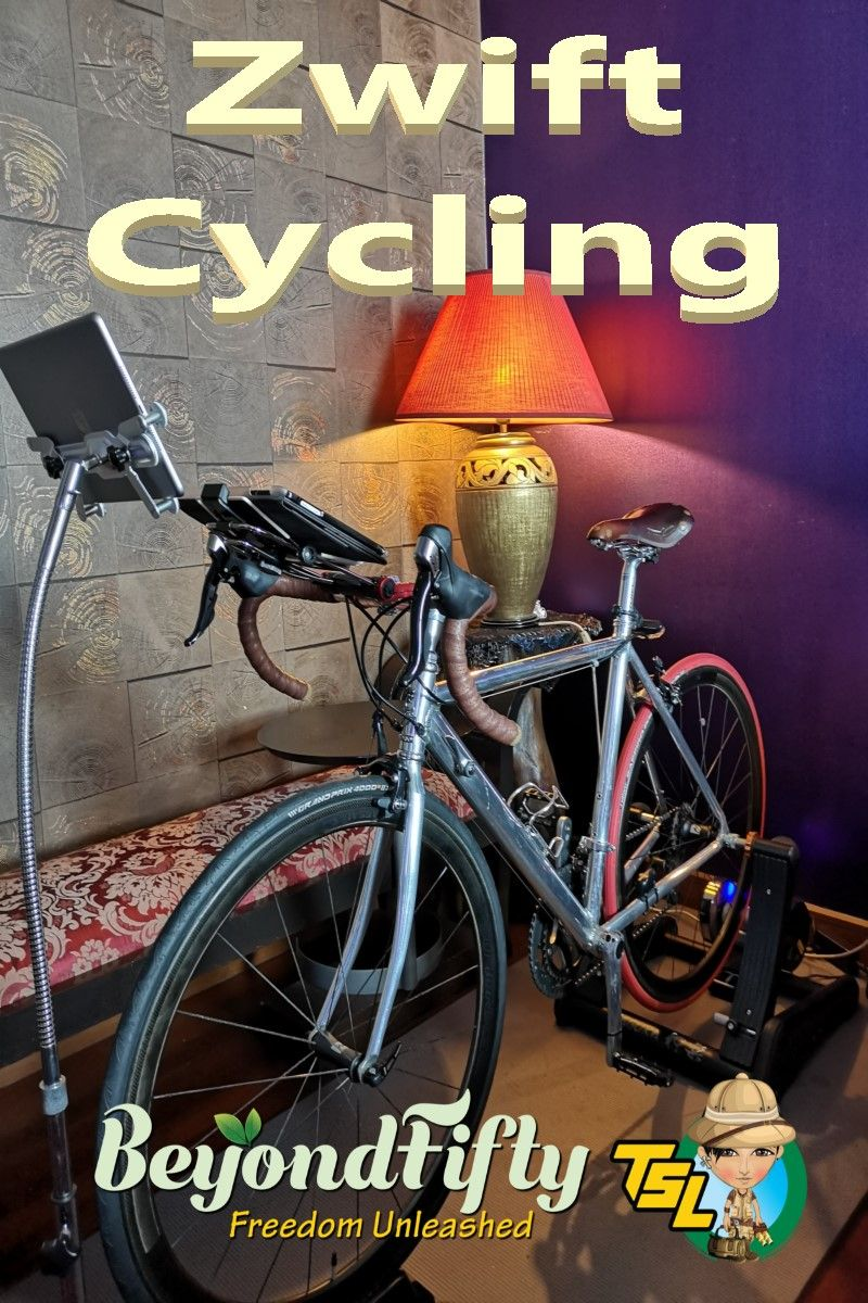 Cycling With Zwift Minoura Kagura Zwift Cycling Cycling