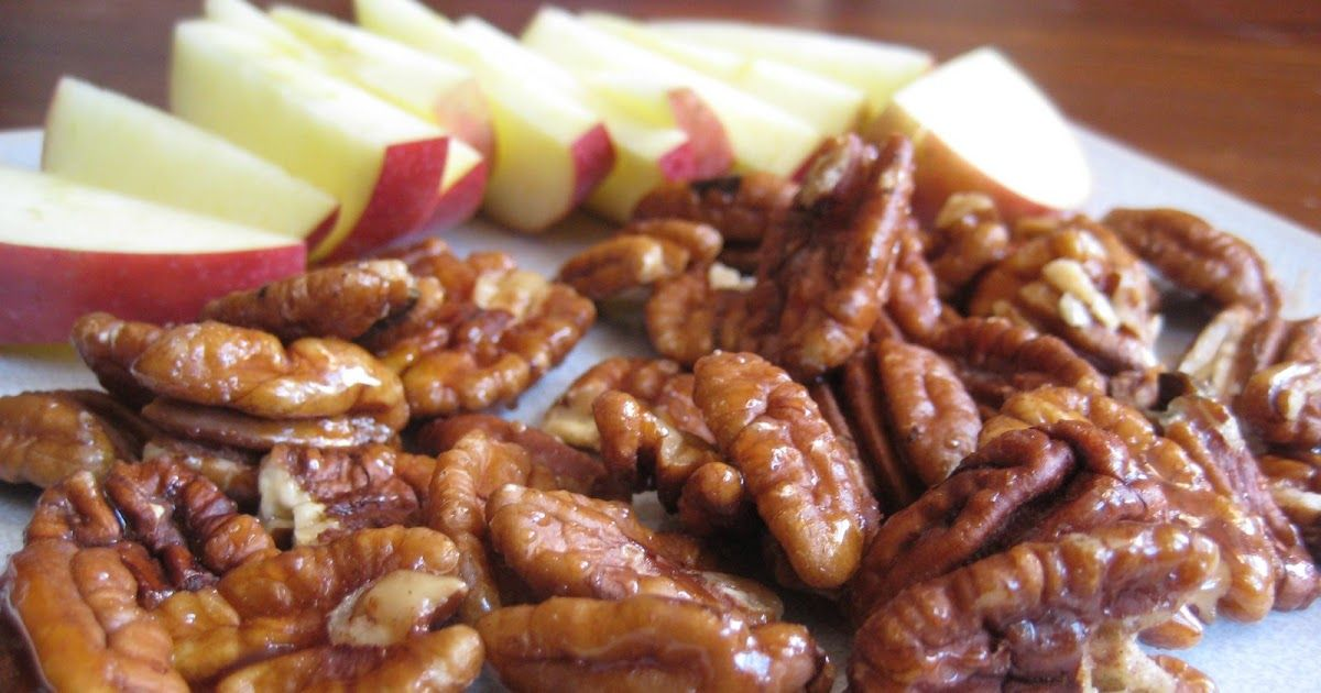 After a visit to Trader Joes last week I became inspired to make my own candy coated pecans.  I've always loved the stuff in salads, especia...