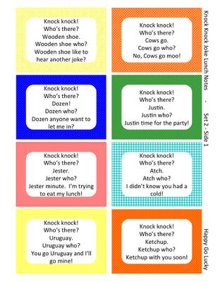 Image of: Merry Christmas Happygolucky Knock Knock Lunchbox Jokes Pinterest Knock Knock Jokes Lunch Box Notes Free Printable Kids Stuff