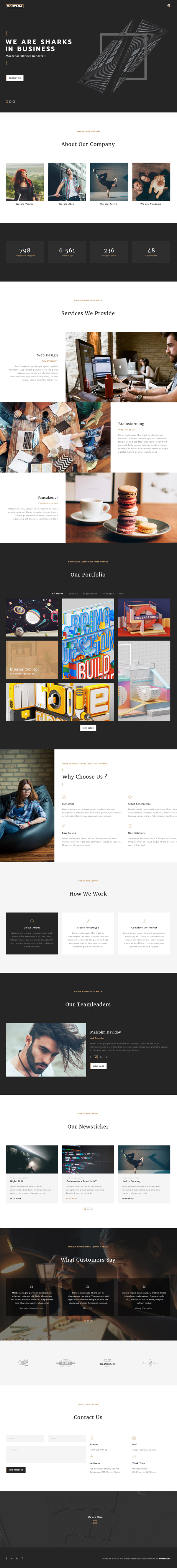 Fresh multipurpose Responsive HTML5 Templates & Themes   Design   Graphic…