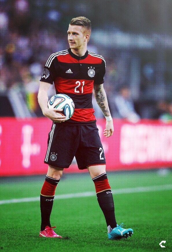 Marco Reus 21 Deutschland Footballer American Football Dfb Team Heja Bvb