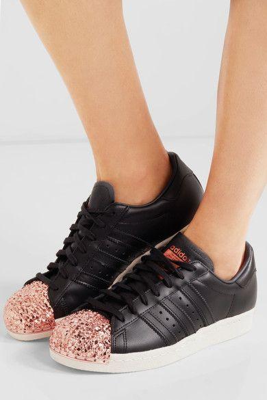 adidas noir semelle rose gold