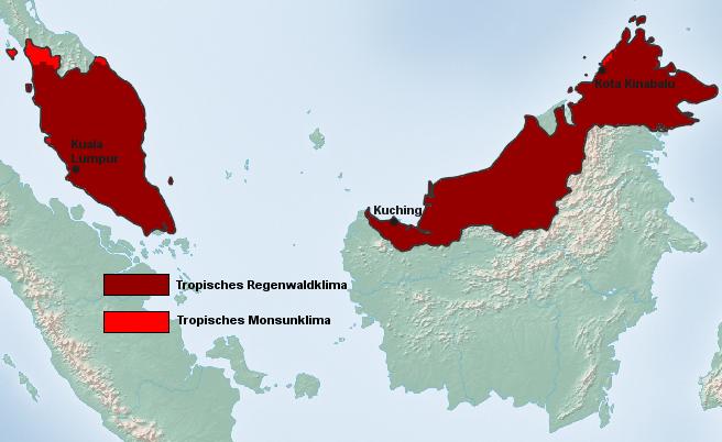 Malaysia Klimazone