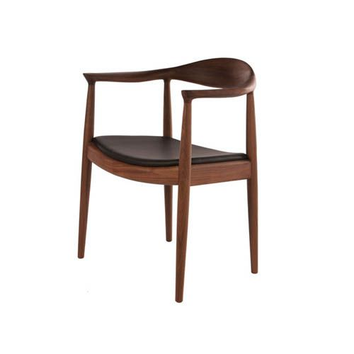 Brono Teak Round Chair This Wooden Dining Chair Provides Simple