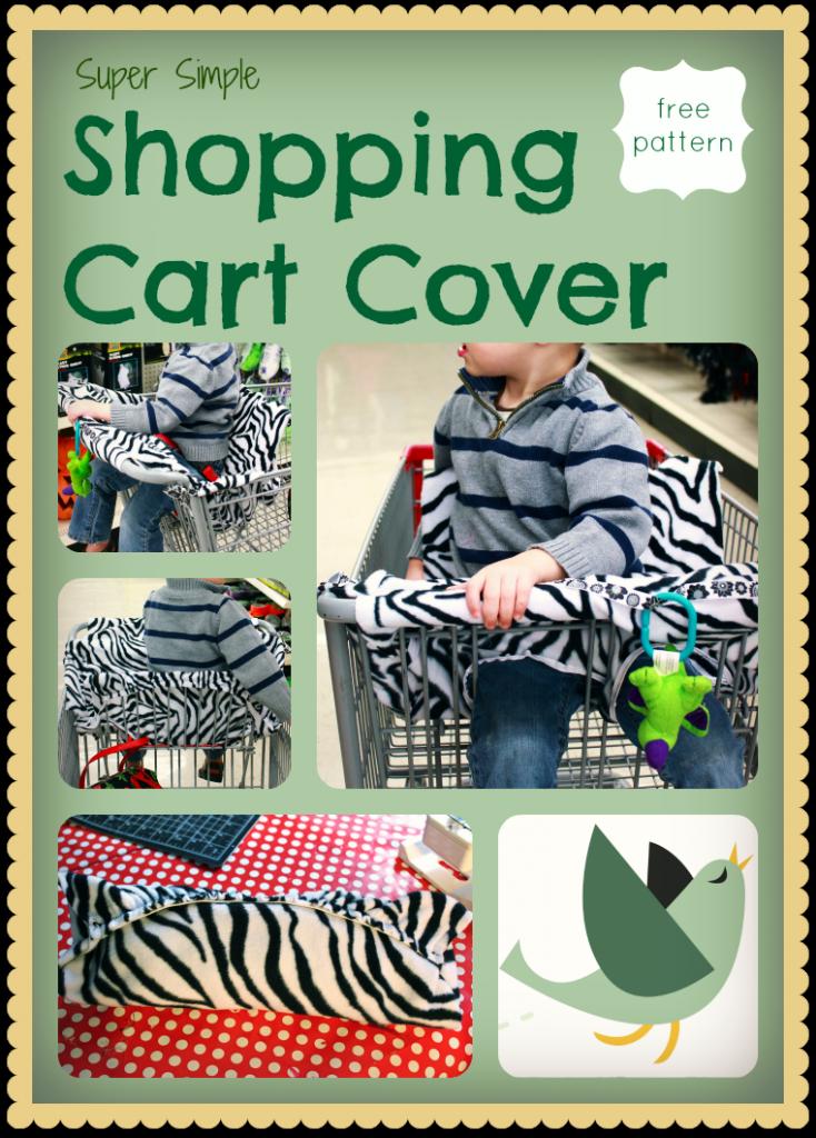 Einkaufswagen Schutz / Überzug nähen - Shopping Cart Cover   Baby ...