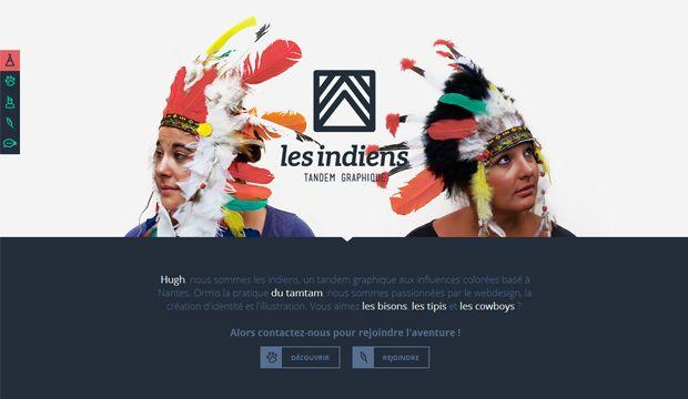 Les Indiens – Tandem Graphique