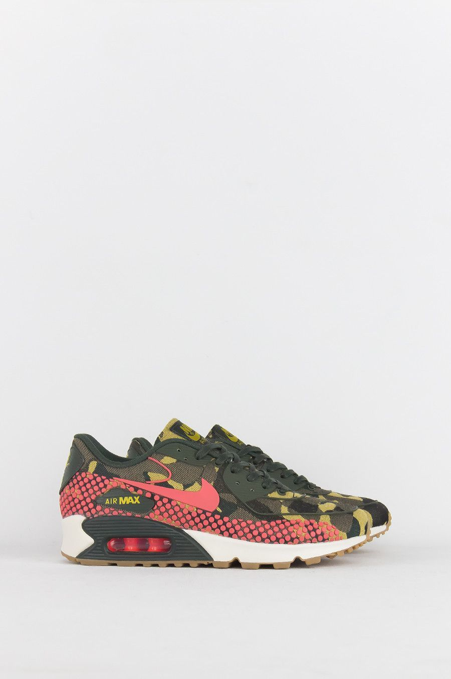 NIKE WOMENS AIR MAX 90 JCRD PRM DESERT CAMO HOT LAVA