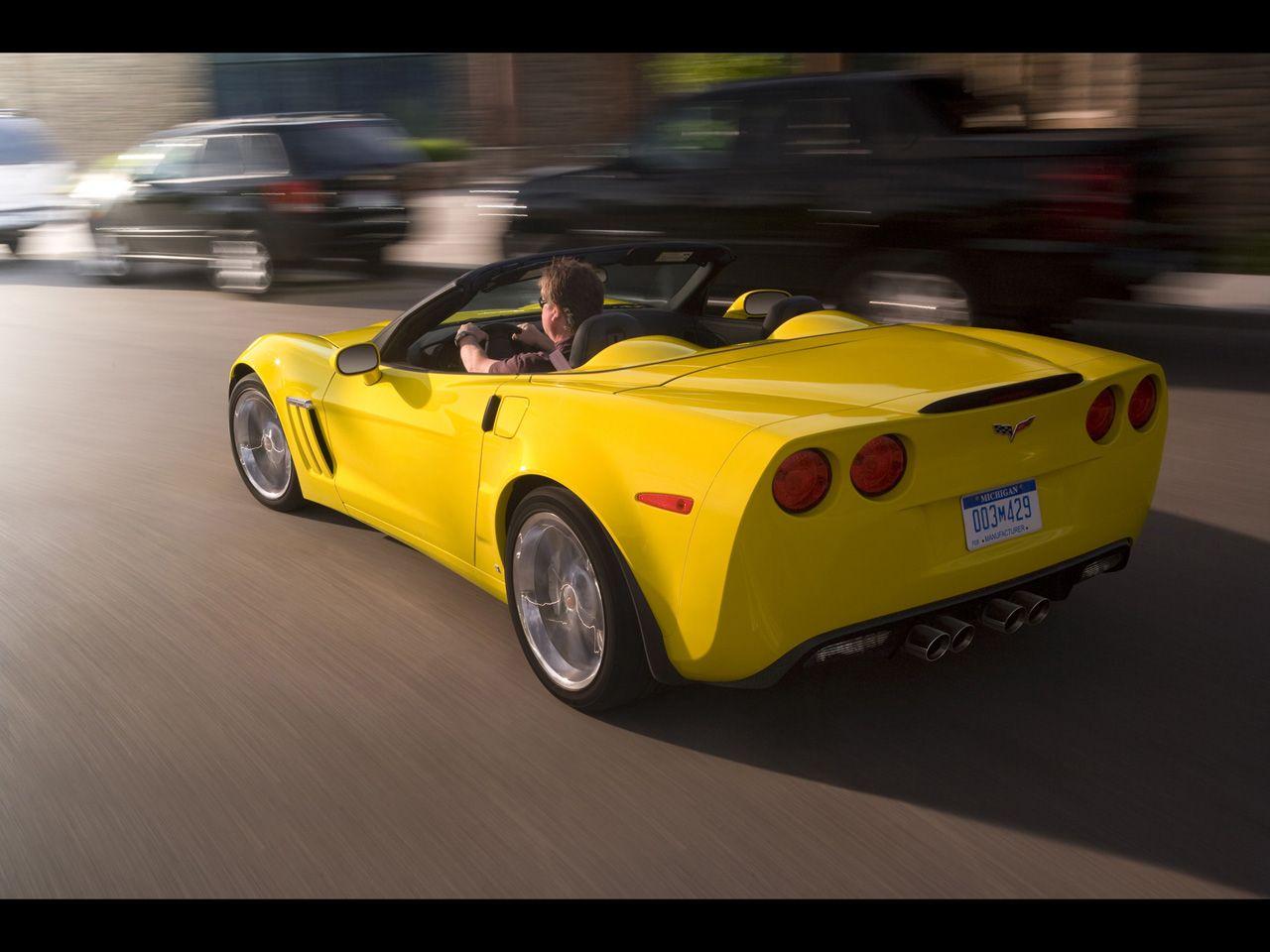 2013 Corvette Grand Sport commemorative edition. From
