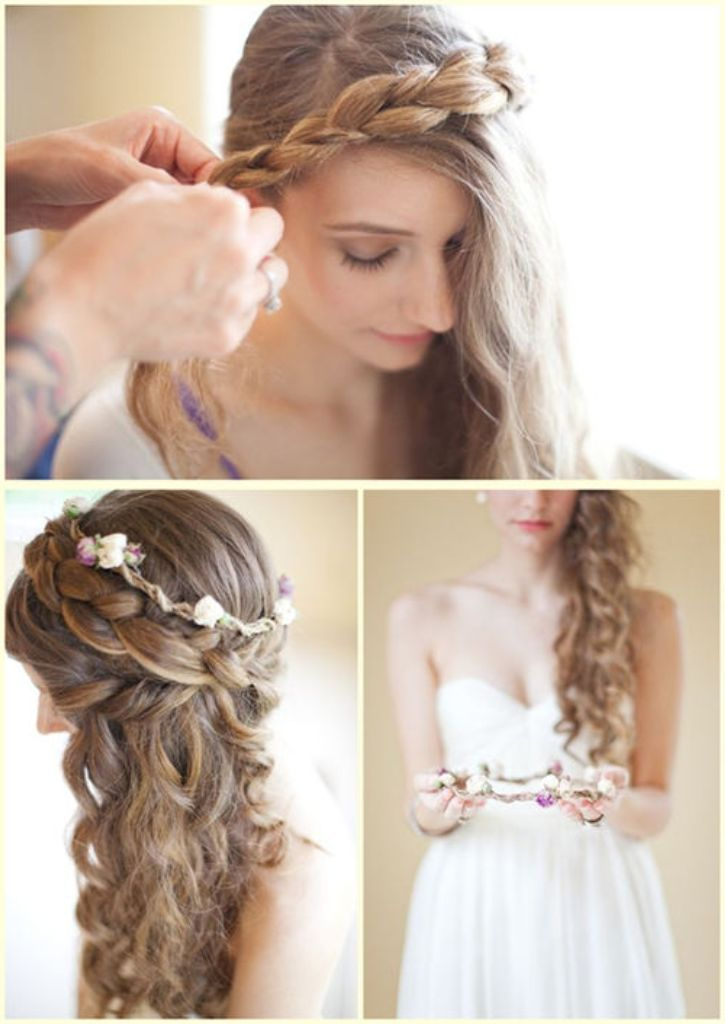 Outstanding 1000 Images About Beautiful Curly Wedding Hair Ideas On Pinterest Hairstyles For Men Maxibearus