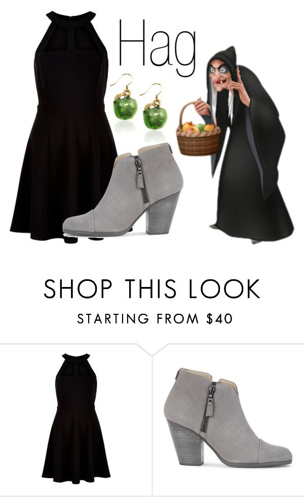"""""""Hag~ DisneyBound"""" by basic-disney ❤ liked on Polyvore featuring New Look and rag & bone"""