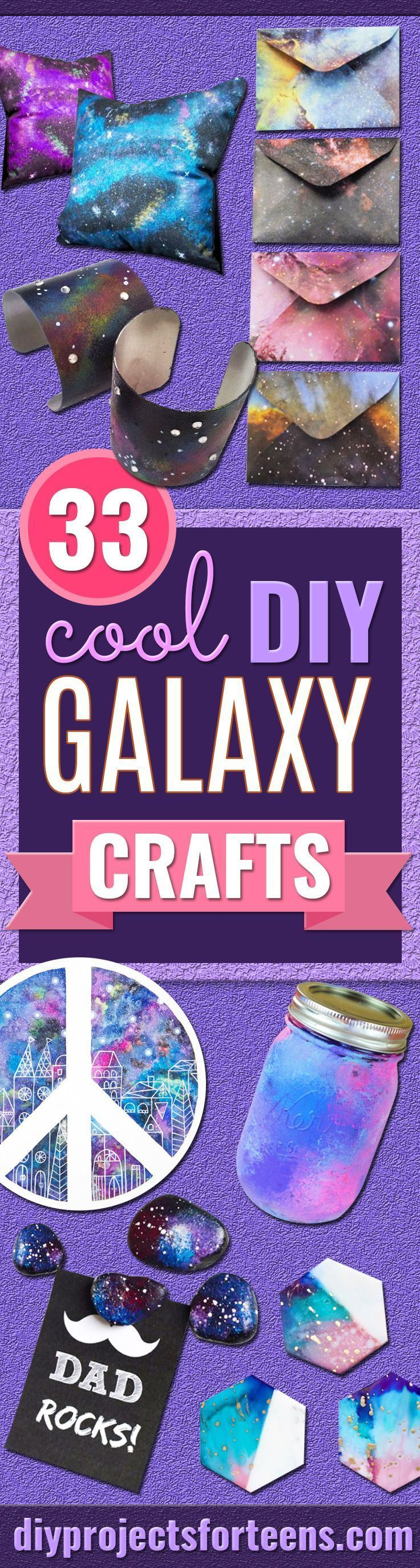 These 33 DIY Galaxy Crafts Are Out Of This World These 33 DIY Galaxy Crafts Are Out Of This World