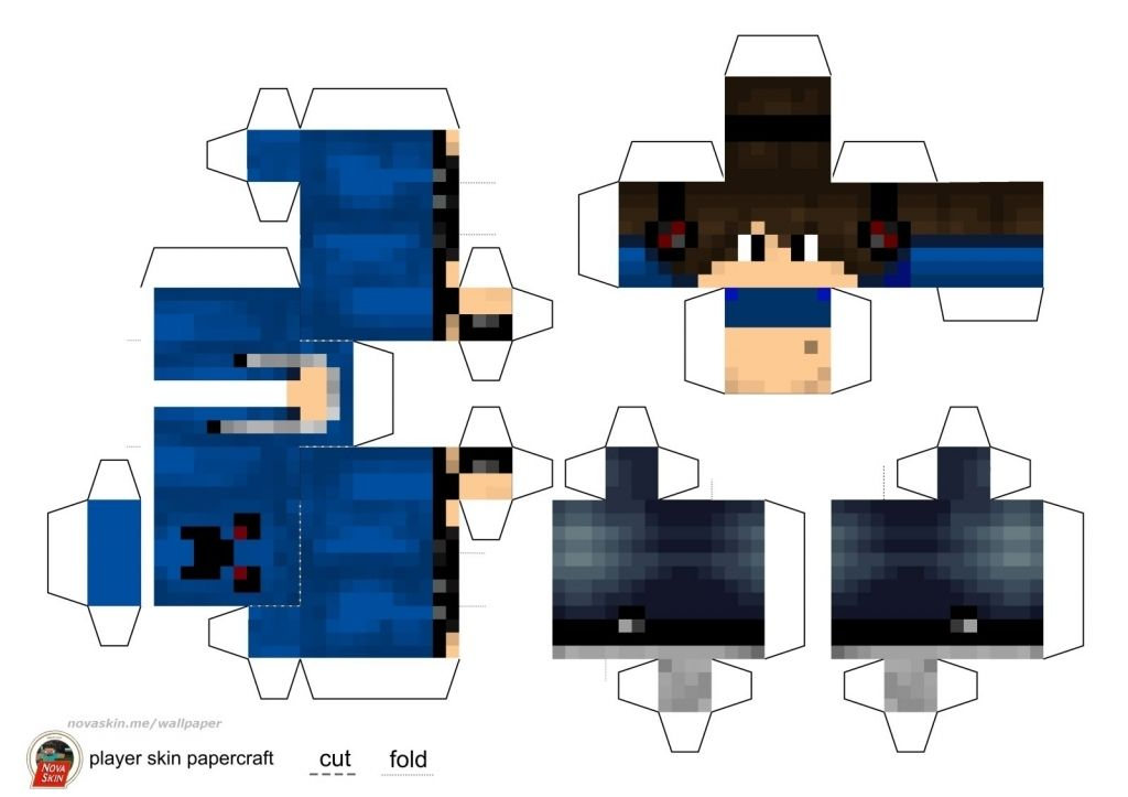 minecraft papercraft girl - Google Search | DIY and crafts ...