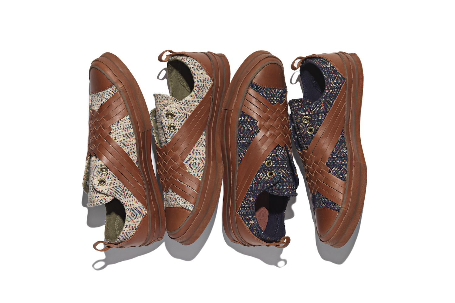 02d8c32890ad Nigel Cabourn and Converse Team up on New Chuck Taylor Pack. Premium  Italian knit label Missoni updates the classic Chuck Taylor All Star  70  with luxe ...