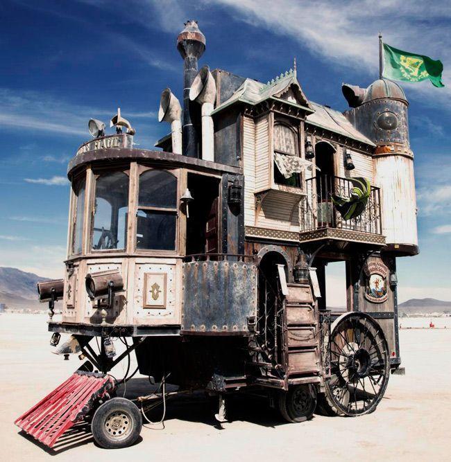 Steam Punk Home : totally crazy !