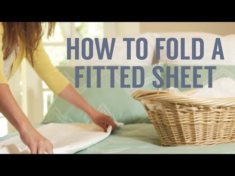 How To Fold a Fitted Sheet Perfectly In Seconds! | ...love Maegan