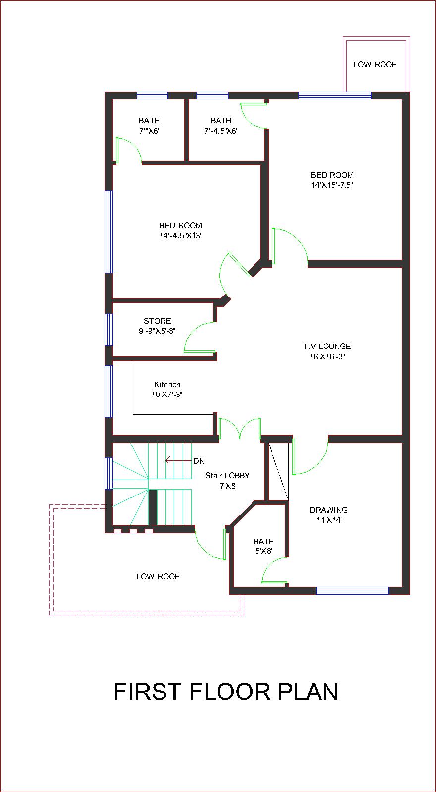 Pakistan 2014 new 10 marla house plan bahria town overseas b block