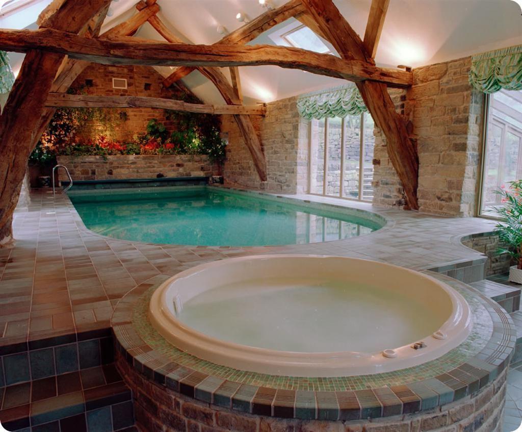 Cozy indoor pools for homes | Interior | Pinterest | Indoor pools ...
