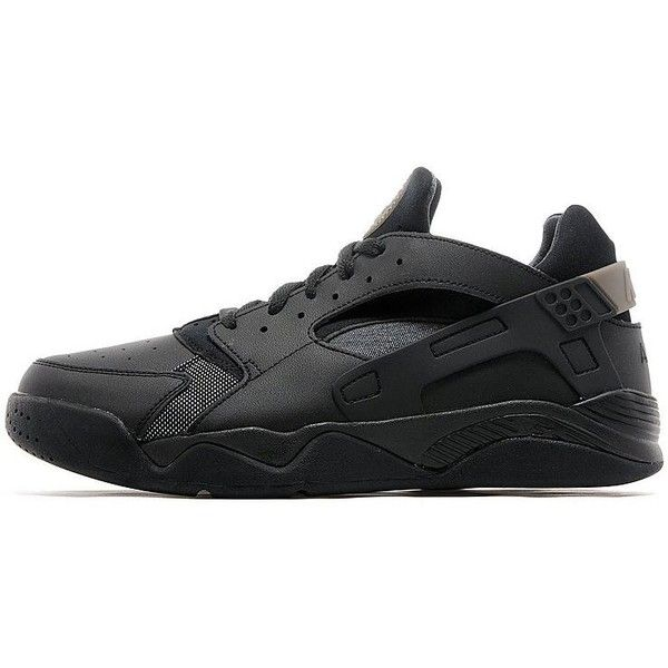 online store 5a9fa f4497 Nike Air Flight Huarache Low ( 130) ❤ liked on Polyvore featuring men s  fashion, men s shoes, men s sneakers, black, nike mens sneakers, nike mens  shoes, ...