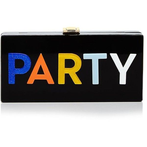 Milly Party Box Clutch (20,925 INR) ❤ liked on Polyvore featuring bags, handbags, clutches, party handbags, milly handbags, hard clutch, party clutches and party purse