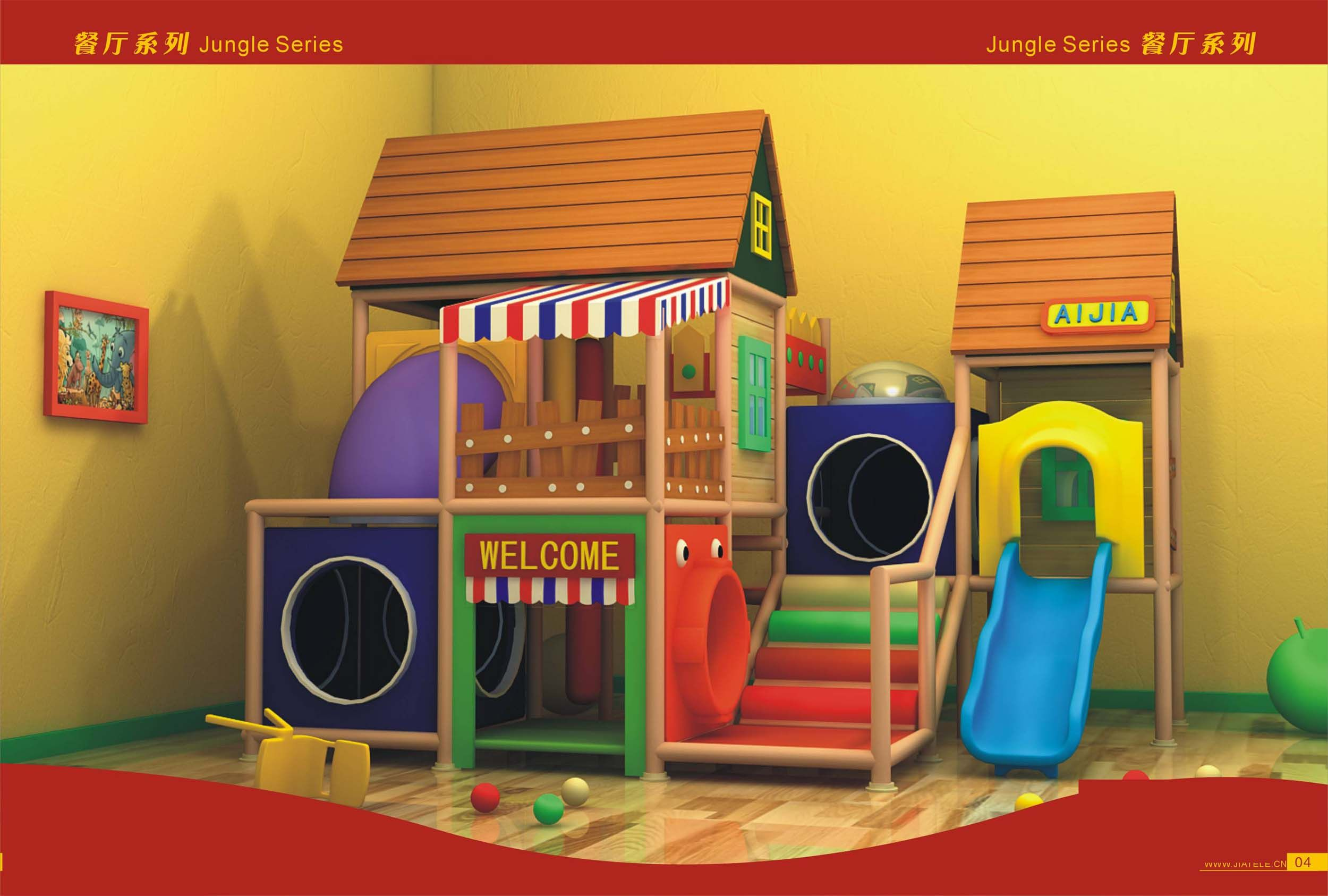 Indoor playground aj 1001 china indoor playground for Indoor playground design ideas