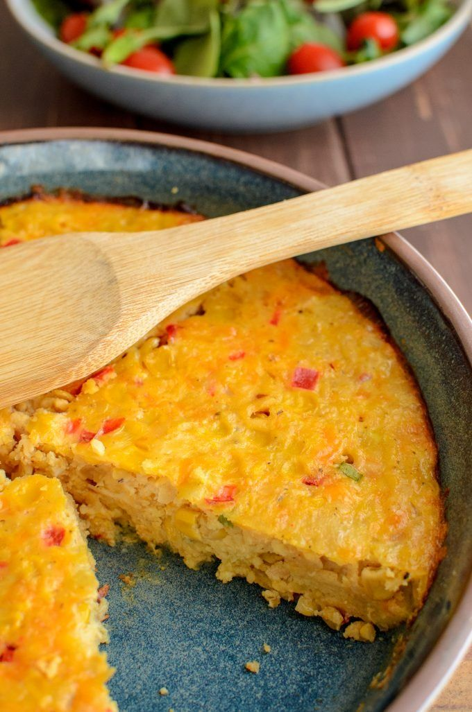 Syn Free Lentil Cheddar Sweetcorn Bake | Slimming World
