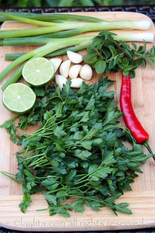 Traditional chimichurri sauce - Laylita's Recipes