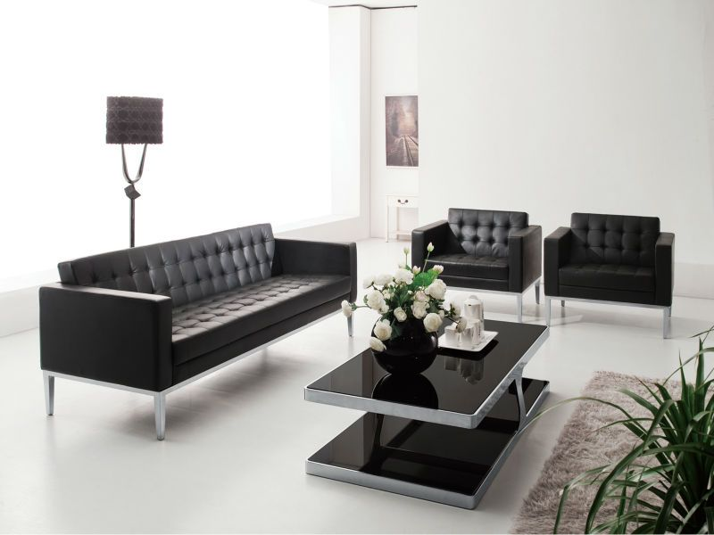 S04 Modern Office Sofa With Stainless Legs,Leisure Sofa ...