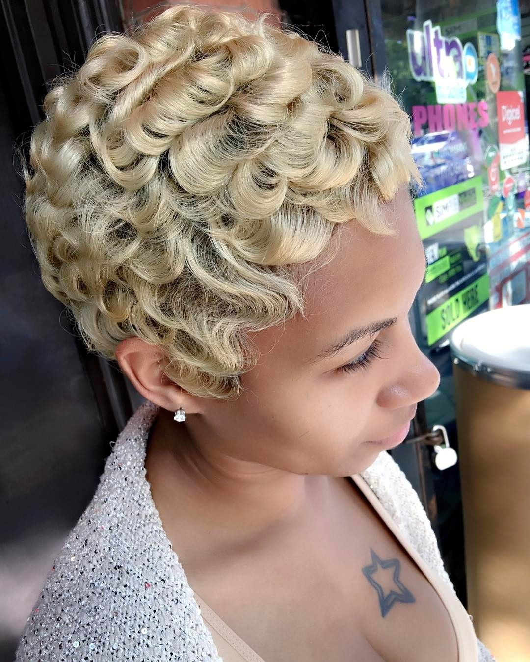Best Short Hairstyles For Black Women In  Check More At - Black people short hairstyles