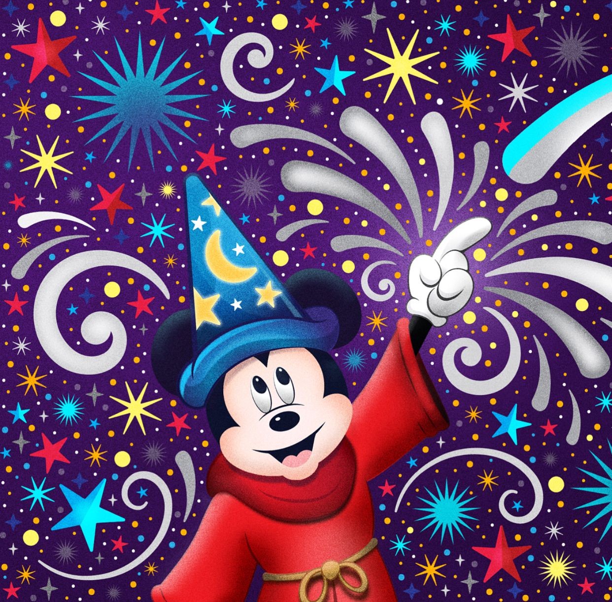 Sorcerer Mickey Jay Ratner Mickey Mouse Art Disney Posters Disney Parks Blog