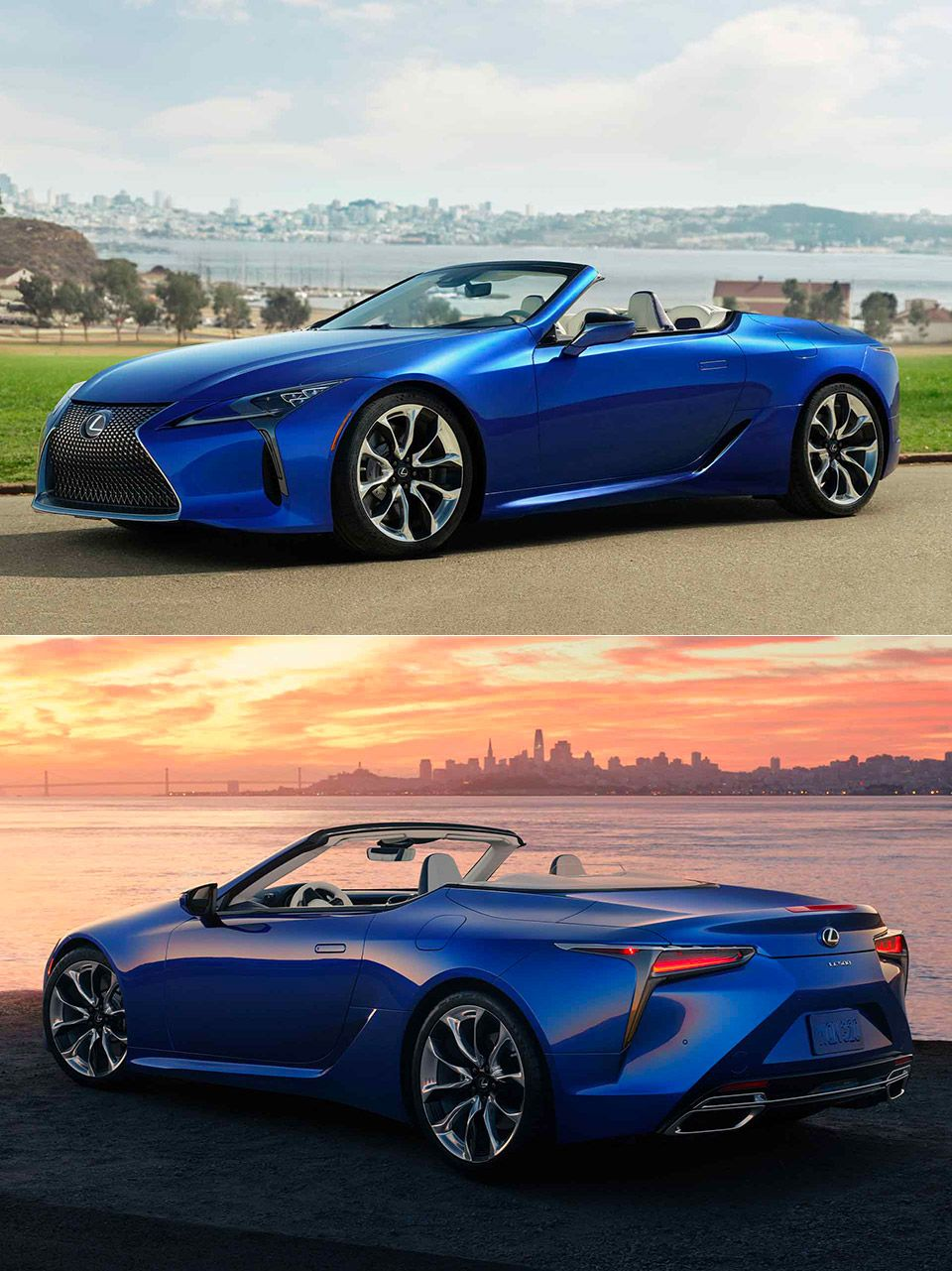 2021 Lexus LC 500 Convertible revealed, has top that can