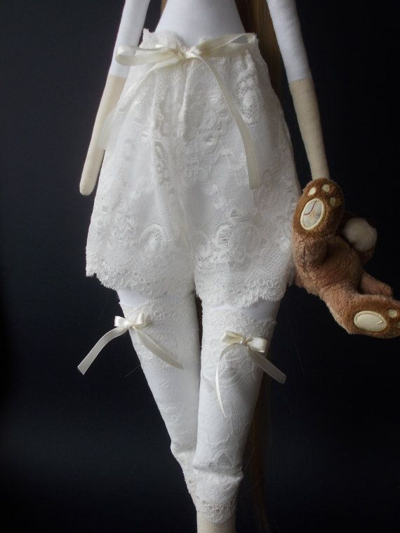Tilda doll lace underwear set - Accessories for doll-Handmade-Unique ...