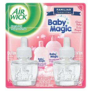 Air Wick Scented Oil Air Freshener Baby Magic Clean Baby